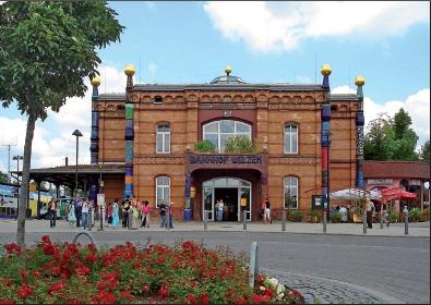 Hundertwasser - Bahnhof